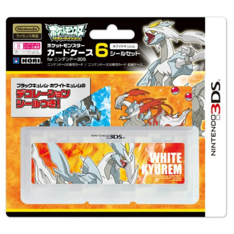 Image for Pocket Monster Card Case 6 Seal Set for Nintendo 3DS (White Kyurem Version)