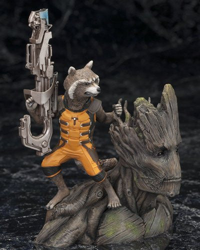 Image 5 for Guardians of the Galaxy - Groot - Rocket Raccoon - ARTFX+ - Guardians of the Galaxy ARTFX+ - 1/10 (Kotobukiya)