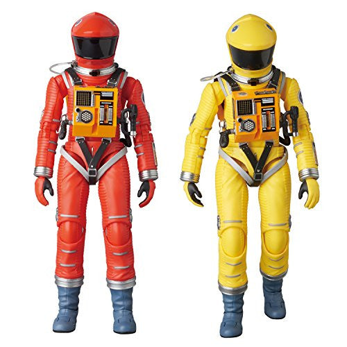 Image 2 for 2001: A Space Odyssey - Mafex No.034 - Space Suit - Orange ver. (Medicom Toy)