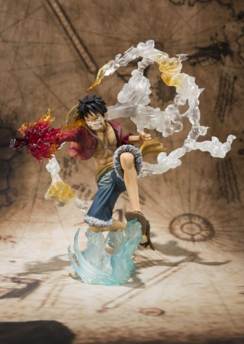 Image 3 for One Piece - Monkey D. Luffy - Figuarts ZERO - Battle ver. (Bandai)