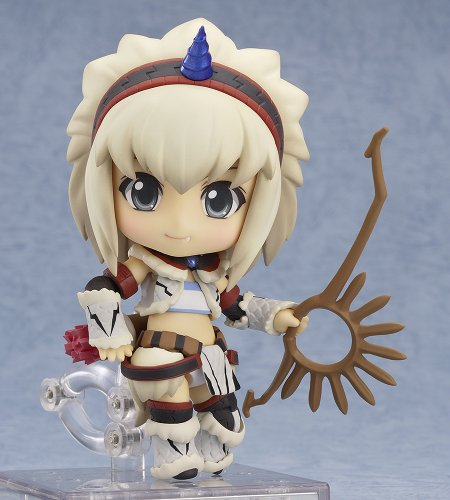 Image 3 for Monster Hunter 4 - Airou - Hunter - Nendoroid #377 - Kirin Armor ver., Full Action (Good Smile Company)