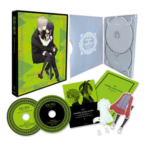 Image 1 for Inu x Boku Ss / Inu Boku Secret Service 7 [DVD+CD Limited Edition]
