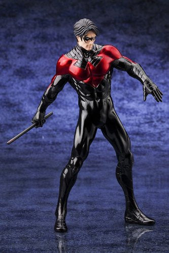 Image 4 for Justice League - Nightwing - DC Comics New 52 ARTFX+ - 1/10 (Atelier Bamboo, Kotobukiya)