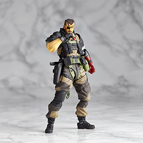 Image 6 for Metal Gear Solid V: The Phantom Pain - Naked Snake - Revolmini rm-012 - Revoltech - Venom ver. (Kaiyodo)