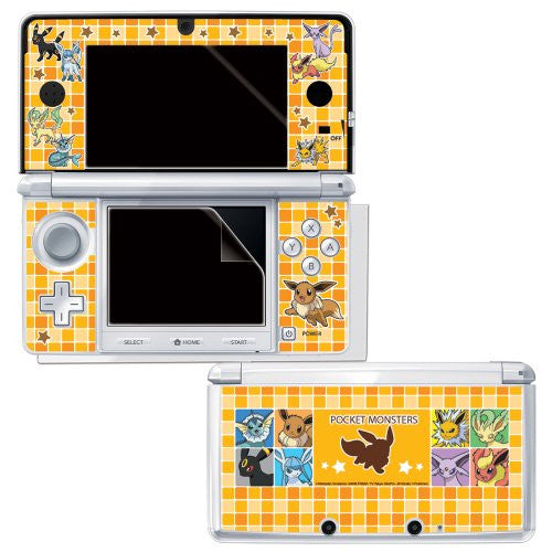 Image 2 for Pocket Monster Protection Filter for 3DS (Eievui Series Version)