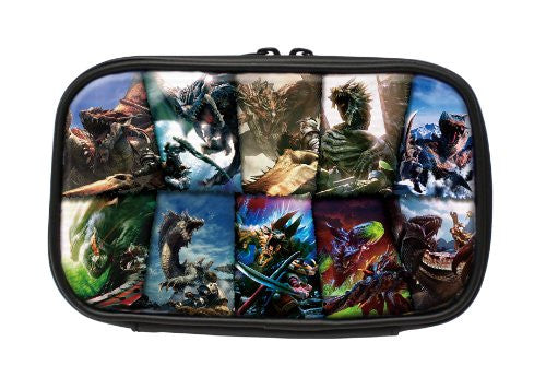 Image 3 for Monster Hunter 10th Anniversary Pouch for 3DS LL (Full color)