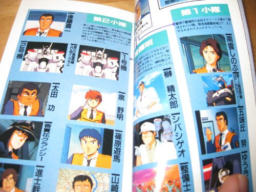 Image 2 for Mobile Police Patlabor Daizukan #1 Encyclopedia Art Book