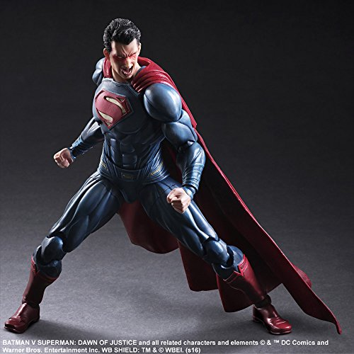 Image 4 for Batman v Superman: Dawn of Justice - Superman - Play Arts Kai (Square Enix)