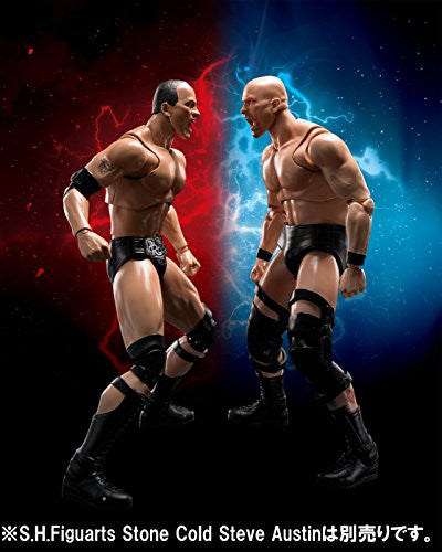 Image 2 for WWE - The Rock - S.H.Figuarts (Bandai)