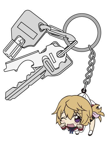 Image 3 for IS: Infinite Stratos - Charlotte Dunois - Tsumamare - Keyholder - Rubber Keychain (Cospa)