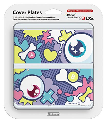 Image 1 for New Nintendo 3DS Cover Plates No.052 (Kyarypamyupamyu Design Eyeball)