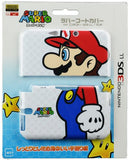 Thumbnail 1 for Rubber Coat Cover for 3DS LL (Mario)