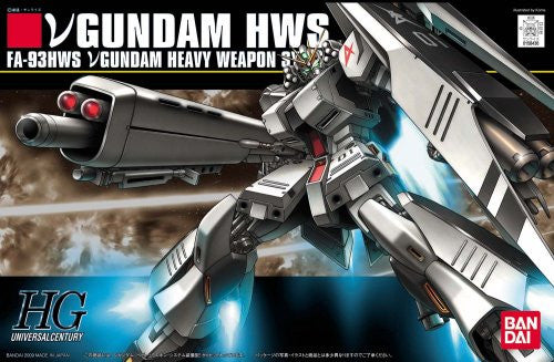 Kidou Senshi Gundam: Char's Counterattack - FA-93HWS ν Gundam Heavy Weapons System Type - HGUC 093 - 1/144 (Bandai)