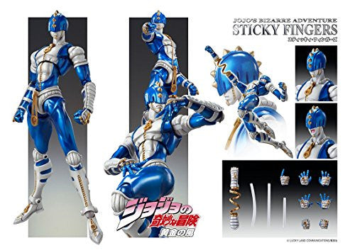 Image 2 for Jojo no Kimyou na Bouken - Ougon no Kaze - Sticky Fingers - Super Action Statue (Medicos Entertainment)