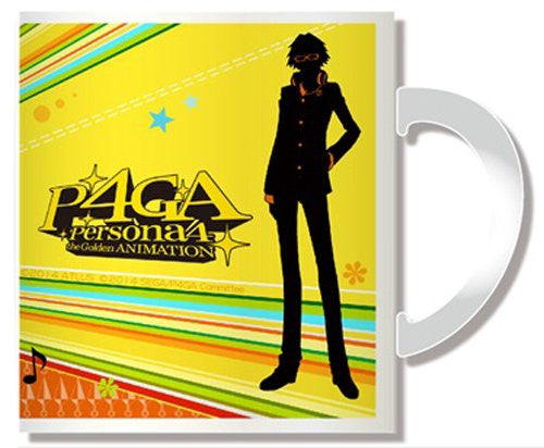 Image 2 for Persona 4: the Golden Animation - Hanamura Yousuke - Mug (Penguin Parade)