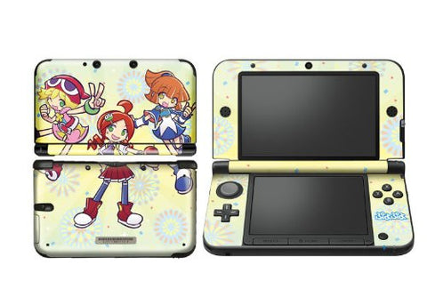 Image for Puyo Puyo Design Skin for 3DS LL (Yellow)