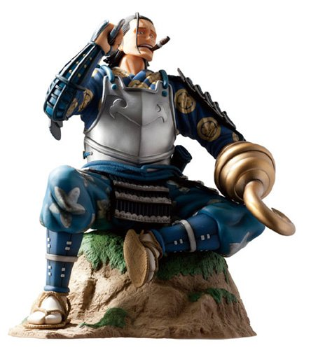 Image 4 for One Piece - Sir Crocodile - Door Painting Collection Figure - 1/7 - Samurai ver. (Plex)