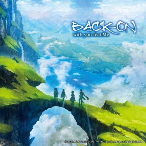 Image 1 for with you feat.Me (Tales of Version) / BACK-ON