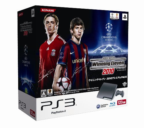 Image 1 for PlayStation3 Slim Console - World Soccer Winning Eleven 2010 Bundle (HDD 120GB Model) - 110V