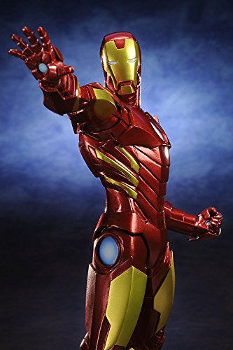 Image 5 for The Avengers - Iron Man - ARTFX+ - Marvel The Avengers ARTFX+ - 1/10 - Red x Gold (Kotobukiya)