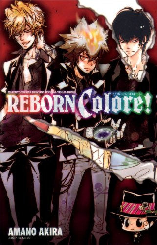 Image 1 for Katekyou Hitman Reborn!   Official Visual Book Reborn Colore!