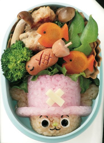 Image 3 for One Piece Kaizoku Chara Bento Book
