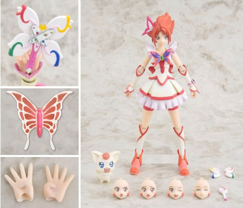 Image 2 for Yes! Precure 5 - Cure Rouge - Gutto-Kuru Figure Collection (CM's Corporation)