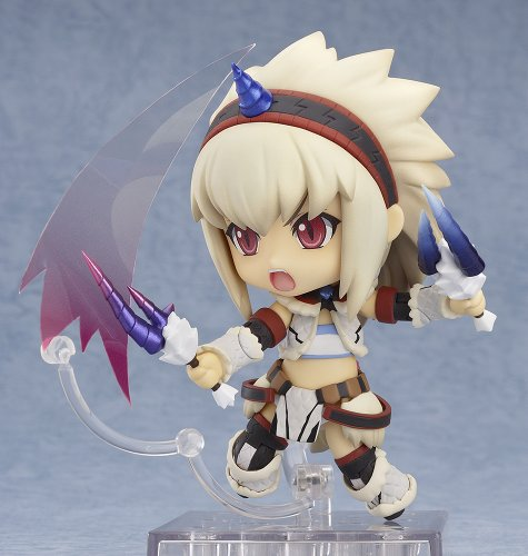 Image 7 for Monster Hunter 4 - Airou - Hunter - Nendoroid #377 - Kirin Armor ver., Full Action (Good Smile Company)