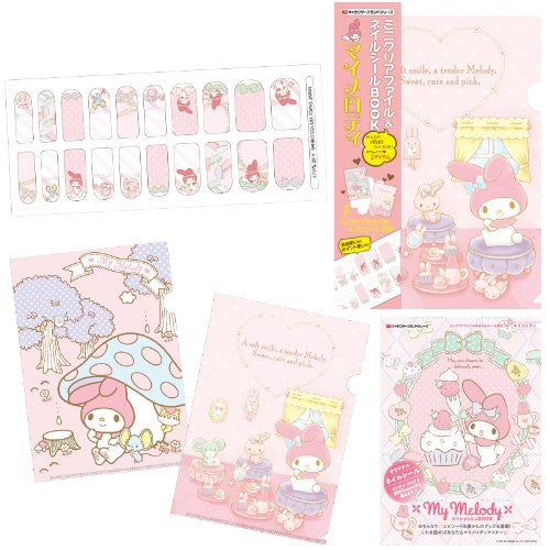 Image 6 for My Melody   Mini Clear File And Nail Seal Book