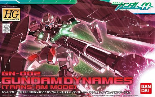 Image 3 for Kidou Senshi Gundam 00 - GN-002 Gundam Dynames - HG00 #32 - 1/144 - Trans-Am Mode, Gloss Injection Ver. (Bandai)