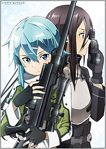 Image 1 for Sword Art Online II - Kirito - Sinon - Bath Poster - Poster (Penguin Parade)
