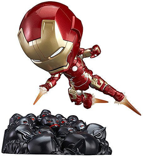 Image 1 for Avengers: Age of Ultron - Iron Man Mark XLIII - Nendoroid #543 - Hero's Edition, Ultron Sentries Set (Good Smile Company)