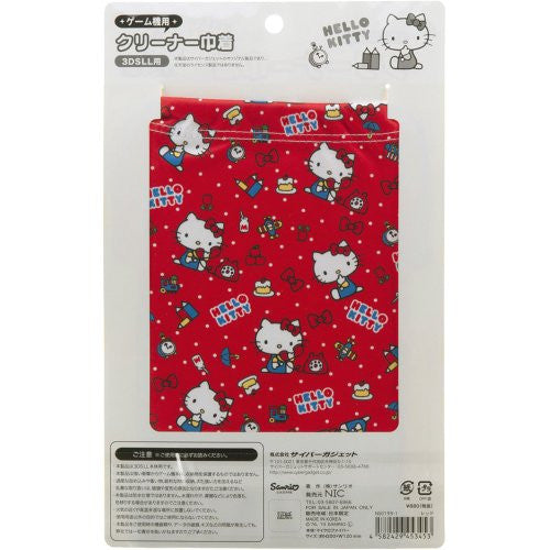 Image 2 for Hello Kitty Pouch for 3DS LL (Red)