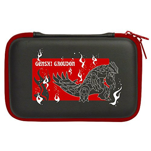 Image 2 for Pokemon Hard Pouch for 3DS LL (Genshi Groudon)