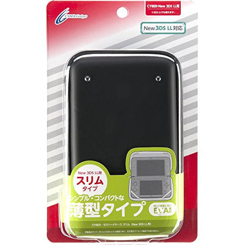 Image for Semi Hard Case Slim for New 3DS LL (Black)
