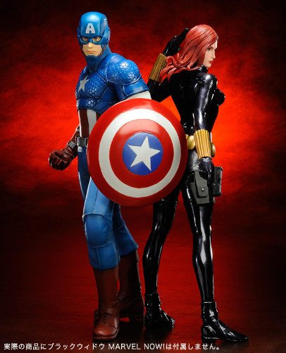 Image 10 for The Avengers - Captain America - ARTFX+ - Marvel The Avengers ARTFX+ - 1/10 (Kotobukiya)