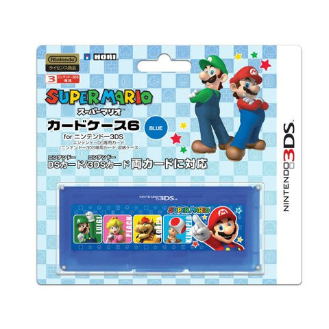 Image for Super Mario Card Case 6 (Blue)