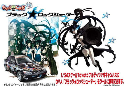 Image for Black ★ Rock Shooter - Dead Master - Kuroi Mato - Takanashi Yomi - Itasha - Black ★ Rock Shooter Toyota Altezza RS200 - 1/24 - Toyota Altezza RS200 (Fujimi)