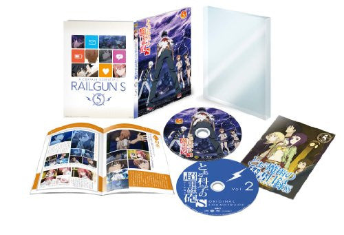 Image 1 for To Aru Kagaku No Railgun S Vol.5 [Limited Edition]