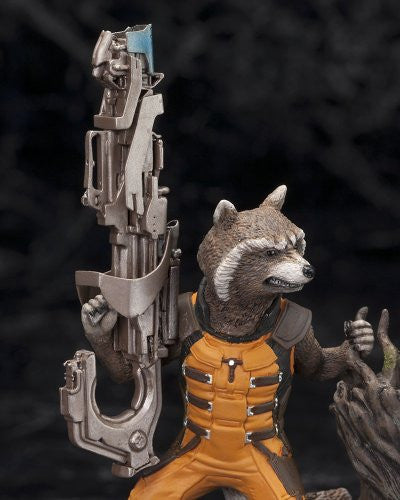 Image 7 for Guardians of the Galaxy - Groot - Rocket Raccoon - ARTFX+ - Guardians of the Galaxy ARTFX+ - 1/10 (Kotobukiya)