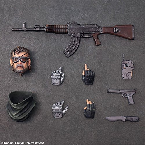 Image 5 for Metal Gear Solid V: The Phantom Pain - Naked Snake - Play Arts Kai - Splitter ver. (Square Enix)