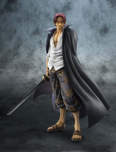 Image 2 for One Piece - Red-Haired Shanks - Excellent Model - Portrait Of Pirates DX - 1/8 - Marineford ver. (MegaHouse)