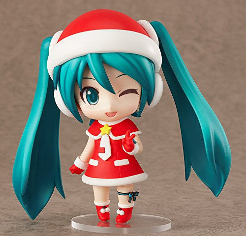 "Image 4 for Vocaloid - Hatsune Miku - Good Smile Kuji - Good Smile Kuji ""Hatsune Miku 2012 Winter Ver."" - Nendoroid #280 - Santa Ver."