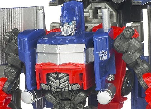 Image 2 for Transformers Darkside Moon - Convoy - Cyberverse - CV12 - Optimus Prime & Armored Weapon Platform (Takara Tomy)