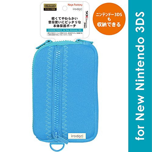 Image 1 for Cushion Pouch for New 3DS (Blue)