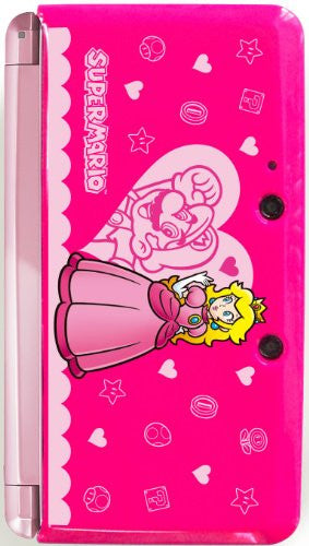 Image 2 for Body Cover 3DS Type E (Super Mario & Peach - Pink)
