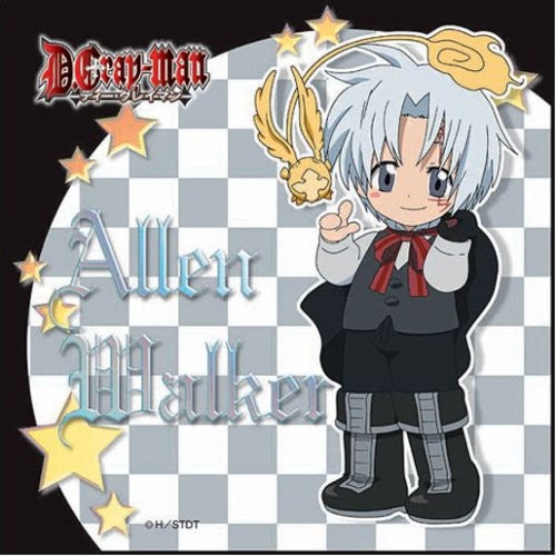 Image 1 for D.Gray-man - Allen Walker - Towel - Mini Towel - ver. 1 (Broccoli)
