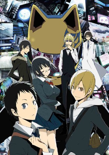 Image 2 for Durarara Blu-ray Disc Box [6Blu-ray+3CD Limited Edition]