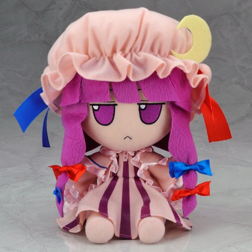 Image 1 for Touhou Project - Patchouli Knowledge - FumoFumo - Touhou Plush Series 05 (AngelType, Gift)