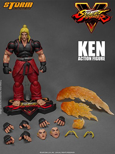 Image 2 for Street Fighter V - Ken Masters - 1/12 (Storm Collectibles)